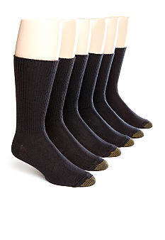 Gold Toe 6-Pack Fluffy Socks