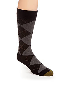 Gold Toe Men's Argyle Crew Socks - Single Pair