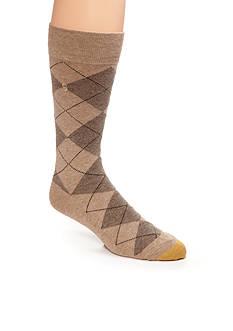 Gold Toe Men's Argyle Crew Socks - Single Pair