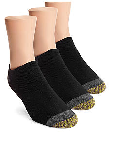 Gold Toe 3-Pack No Show Athletic Socks