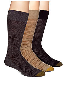 Gold Toe Glenn Plaid Dress Socks - Single Pair
