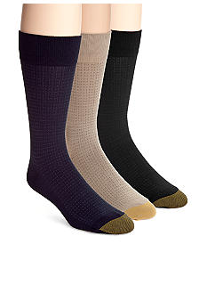 Gold Toe Micro Dots Dress Socks - Single Pair