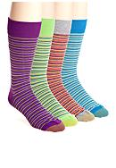Gold Toe® Multi Mini Striped Socks - Single Pair