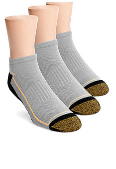 Gold Toe 3-Pack G Tec No Show Socks