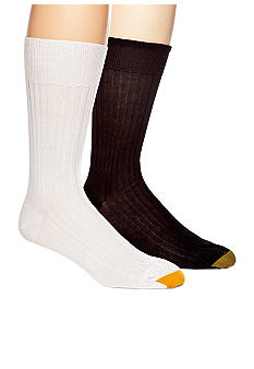 Gold Toe English Rib Non-Elastic Top Socks - Single Pair