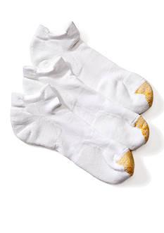 Gold Toe 3-Pack G® Tec Double Tab Liner Socks