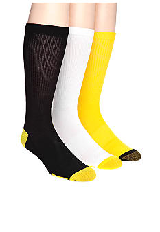 Gold Toe 3-Pack Basketball Crew Socks