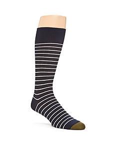 Gold Toe Simple Stripe Rib Rio Socks - Single Pair