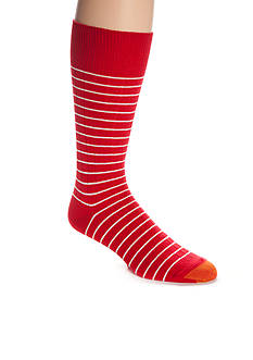 Gold Toe Simple Stripe Rib Rio Socks - Single Pair