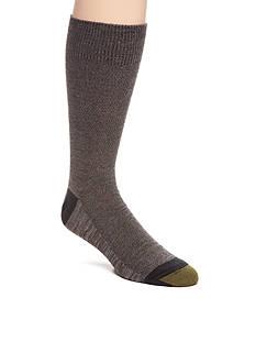 Goldtoe Tri Feed Piquet Crew Socks - Single Pair