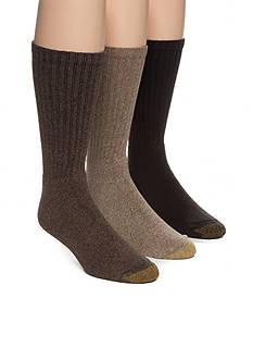 Goldtoe Harrington Crew Socks - 6 Pack