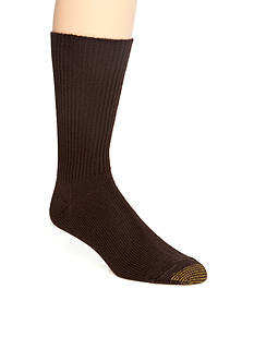 Gold Toe Acrylic Fluffies Crew Casual Socks - Single Pair