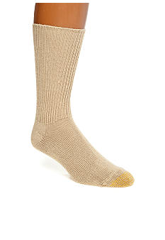 Gold Toe® Acrylic Fluffies Crew Casual Socks - Single Pair