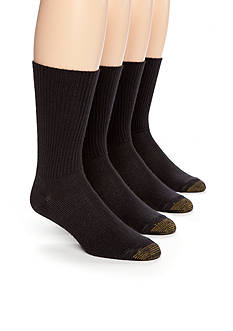 Gold Toe 3 + 1 Bonus Pack Fluffie Crew Socks