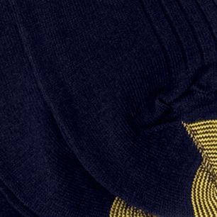 Gold Toe: Navy Gold Toe Big & Tall 3 Pack Canterbury Dress Socks