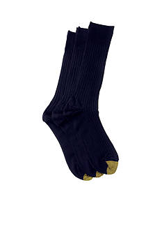 Gold Toe Big & Tall 3 Pack Canterbury Dress Socks