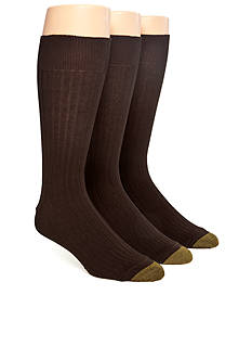 Gold Toe 3-Pack Canterbury Dress Socks