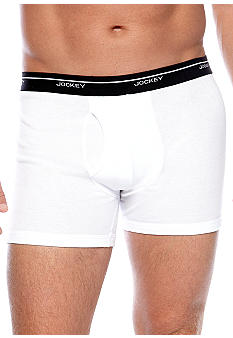 Jockey 3-Pack Stay Dry Slim Boxer Briefs