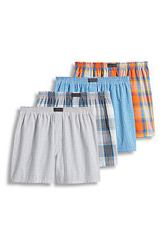 Jockey Active Blend™ Boxers- 4 Pack