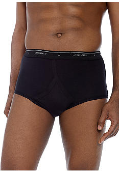 Jockey 3Pk Full Rise Classic Briefs