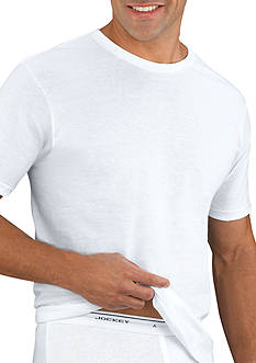 Jockey Big & Tall 2-Pack Crew Neck T-shirt