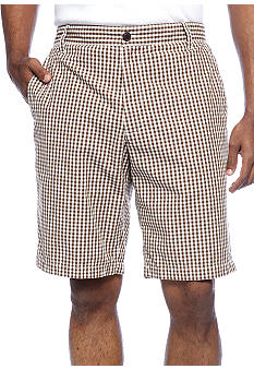 Dockers Flat Front Spice Bazaar Plaid Shorts