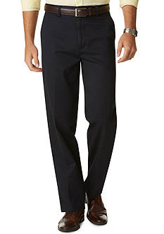 Dockers D3 Classic Fit Flat Front Signature Khaki Pant
