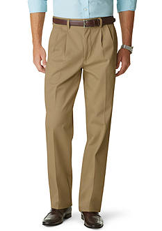 Dockers Signature Khaki Relaxed Fit Pleated Pants