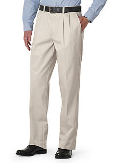 Dockers Signature Khaki Pleated Relaxed Fit Pants