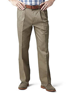 Dockers Classic Pleated Khaki Pants