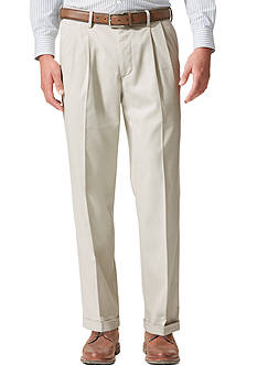 Dockers Relaxed Fit Khaki Pleated Pants