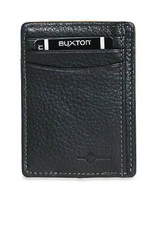 Buxton RFID Front Pocket Money Clip