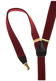 Saddlebred® Solid Clip Suspender