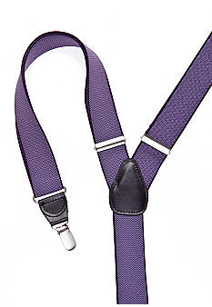 Saddlebred Zig Zag Patterned Clip Suspenders