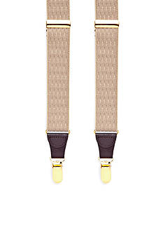 Saddlebred Double Diamond Clip Suspenders