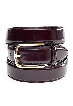 Saddlebred Polished Brass Dress Belt