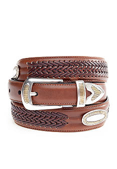 Saddlebred Casual Brushed Silver Belt