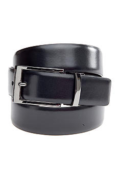 Saddlebred Reversible Gunmetal Belt