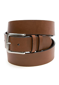 Saddlebred Big & Tall Silver Buckle Casual Belt