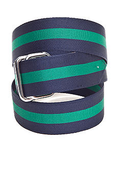 Saddlebred D Ring Ribbon Belt