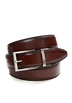 Saddlebred Big & Tall Reversible Leather Belt
