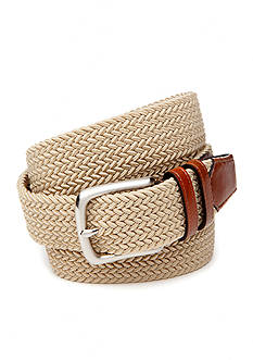 Saddlebred 1.5-in. Leather Tip Stretch Belt