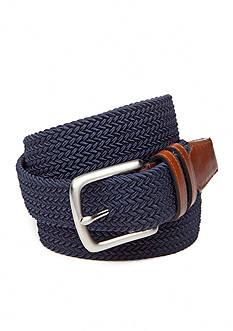 Saddlebred 1.5-in. Leather Tip Stretch Belt