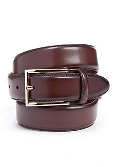Saddlebred 1.25-in. Leather Stitched Dress Belt