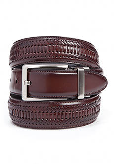 Saddlebred 1.25-in. Leather Braided Reversible Belt