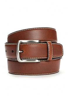 Saddlebred 1 1/2 in. Stitched Feather Edge Belt