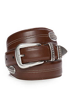 Saddlebred 1.18-in. x 1.38-in. Tapered Concho Design Belt