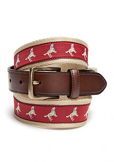 Saddlebred Novelty Lab Dog Belt