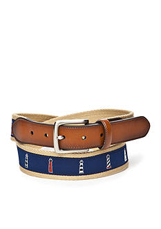 Saddlebred 1.38-in. Lighthouse Ribbon Belt