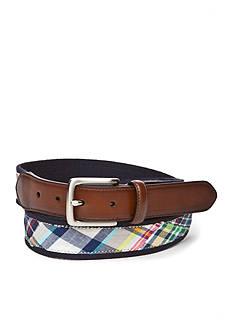 Saddlebred 1.38-in. Madras Overlay Belt